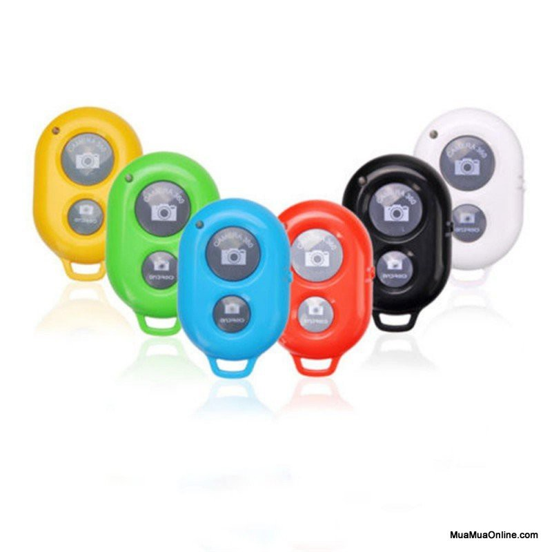 Remote Chụp Hình Bluetooth Cho Điện Thoại Ios Và Android