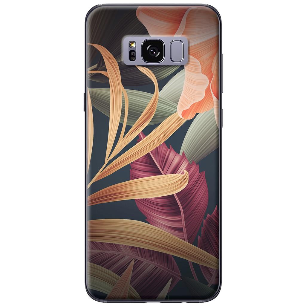 Ốp lưng Samsung S8/S8 plus Hoa vàng xanh