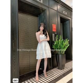 Váy babydoll 2 dây cao cấp V061