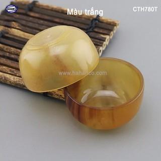 Chén sừng Trâu, uống Trà, Rượu thanh lọc giải độc và nhiệt - [CTH780] - HAHANCO thumbnail