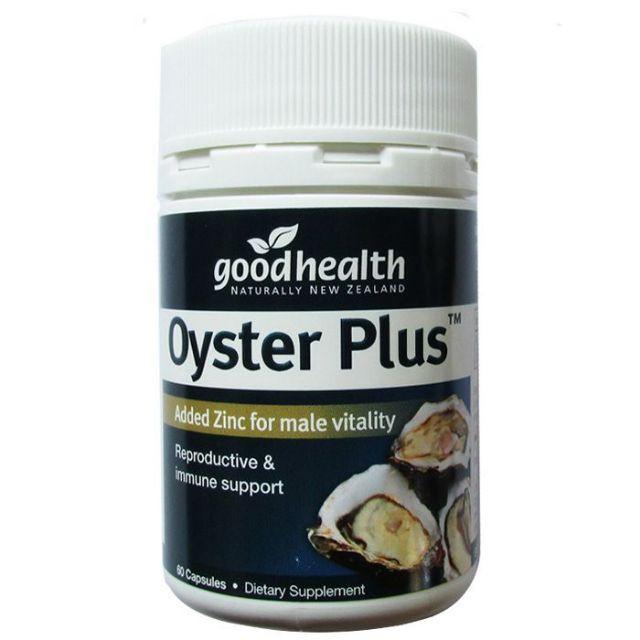 Tinh chất hàu biển Oyster Plus Goodhealth 60 viên