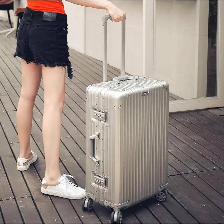 {TỪ XƯỞNG + FREESHIP} Vali KHUNG NHÔM RIMO 20 INCH + QUÀ: gối u, thẻ hành lý, decan và bọc vali vải,..