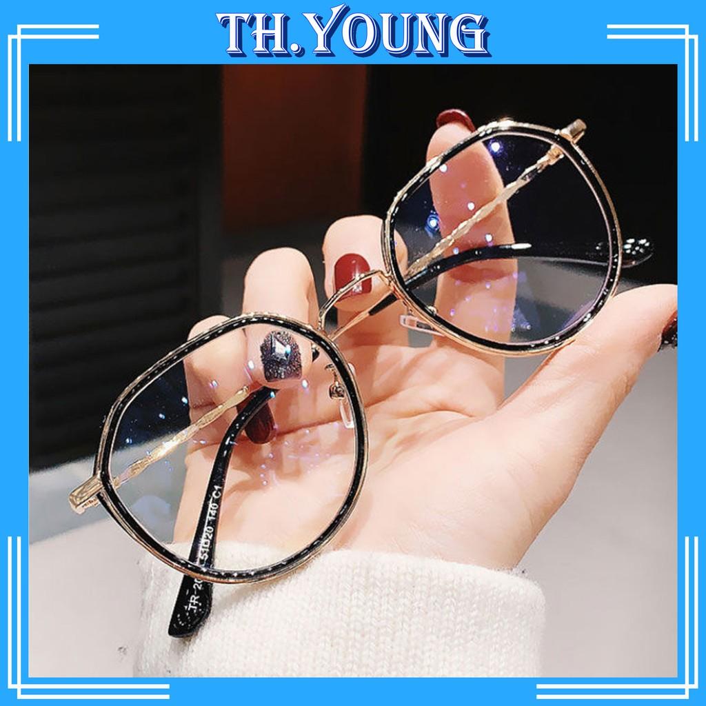 Gọng kính cận mắt tròn thời trang T2030 - kính mắt