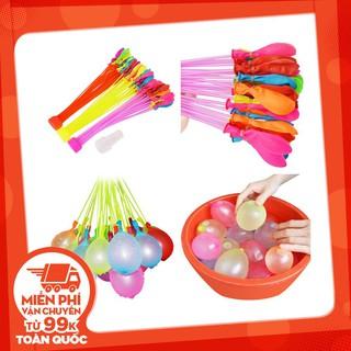 [Nhập mã TOYMAY15 giảm 15K] Bộ 111 quả bong bóng nước 3 chùm Magic Balloons – ĐỒ CHƠI CHỢ LỚN Qsale giá rẻ