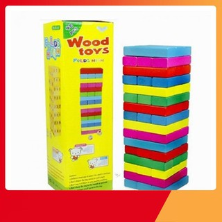 [XẢ KHO] Rút gỗ mầu 48 thanh loại to nặng gần 1kg | Toàn Quốc