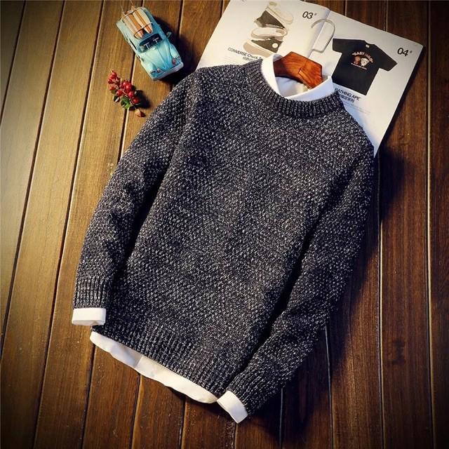 Áo len nam thời trang sành điệu