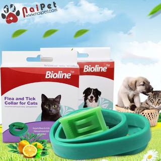 Vòng Cổ Chống Ve Rận Bọ Chét Cho Chó Mèo Bioline thumbnail