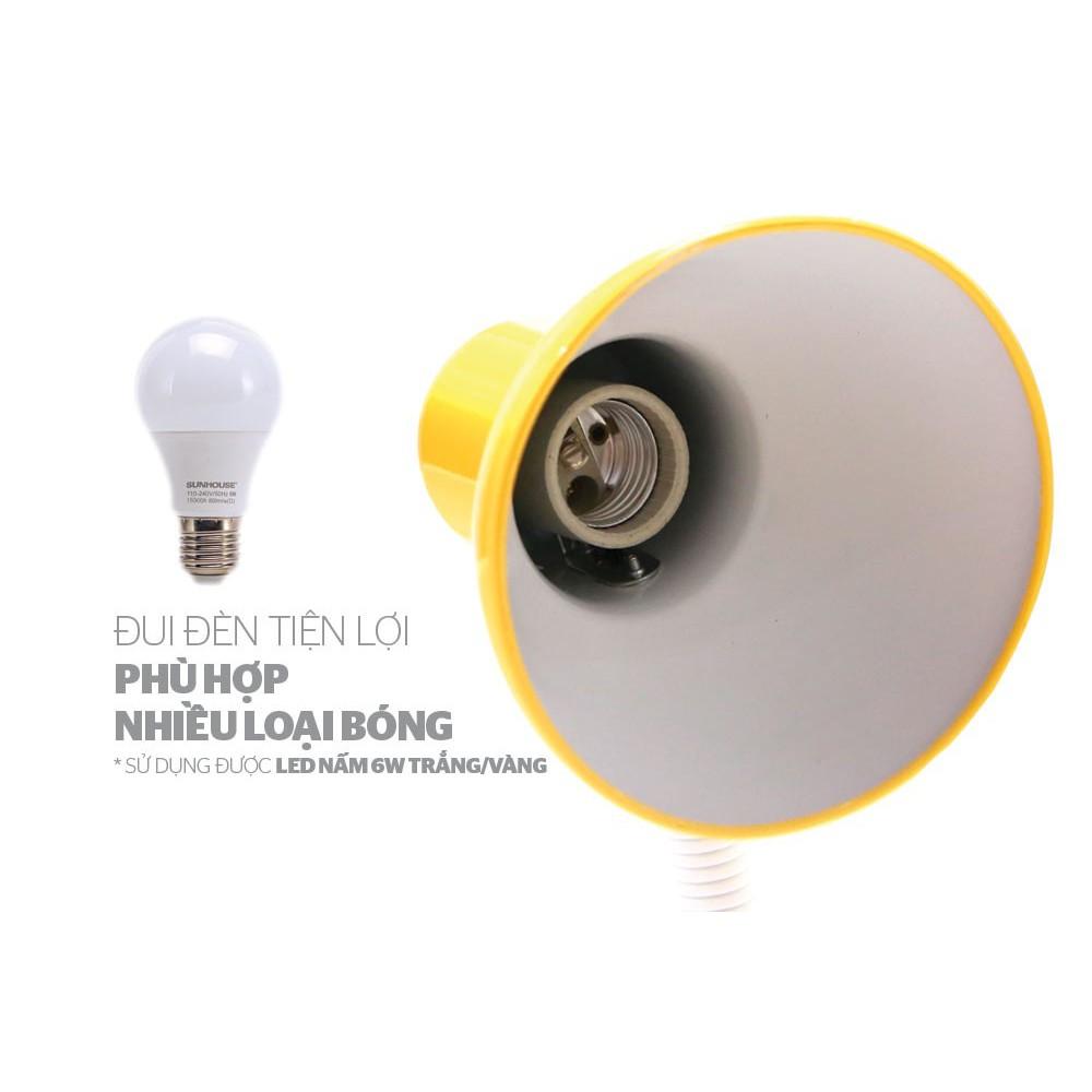 GIÁ RẺ SỐ 1] Đèn bàn học Sunhouse chính hãng - Đèn học chống cận, đèn LED  cao cấp SHE-17LED (KÈM BÓNG ĐÈN) - Đèn bàn