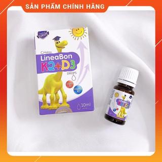 Vitamin K2 D3 cho bé Lineabon bổ sung K2 D3 giúp tăng hấp thu canxi trẻ, ăn ngon ngủ tốt, cao lớn khỏ thumbnail