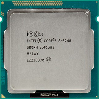 CPU core i3 3240 SOCKET 1155 chưa fan