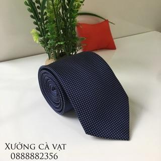 Cà vạt nam bản to 7cm thumbnail