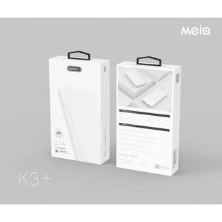 Pin sạc dự phòng Meia K3+ 10.000mAh 2 cổng sạc type C micro - Hàng chính hãng thumbnail