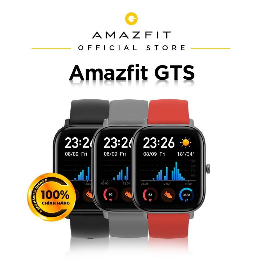 Đồng hồ thông minh Amazfit GTS - Bản Quốc Tế -Hàng Chính Hãng - Bảo hành 12 Tháng