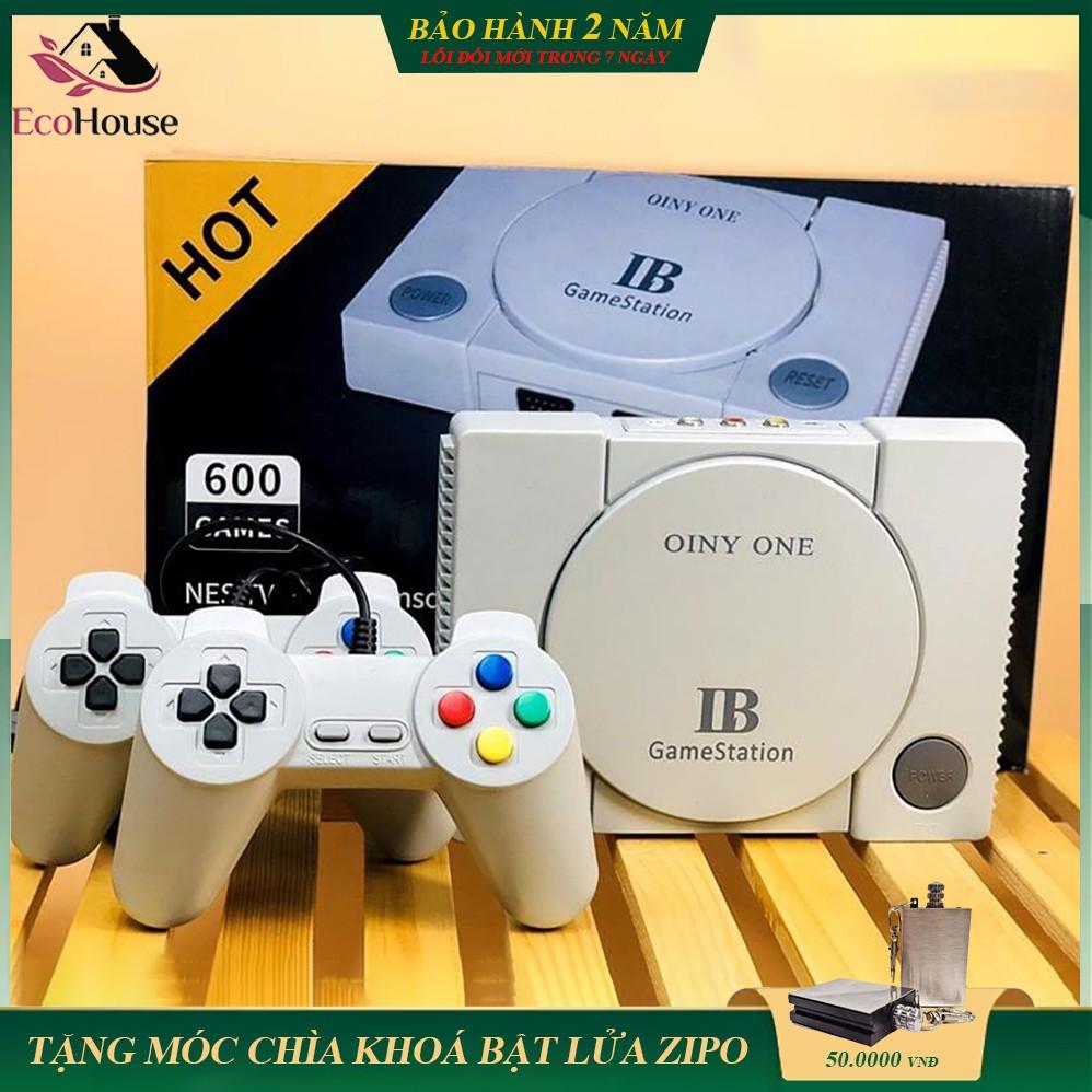Máy chơi game 4 nút gameStation IB tích hợp 600 games, phiên bản AV, bảo hành 2 năm, lỗi đổi mới trong 7 ngày đầu
