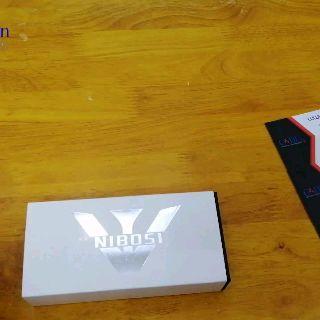 Đồng hồ Nibosi nam 6 kim fullbox 2358 (trắng)