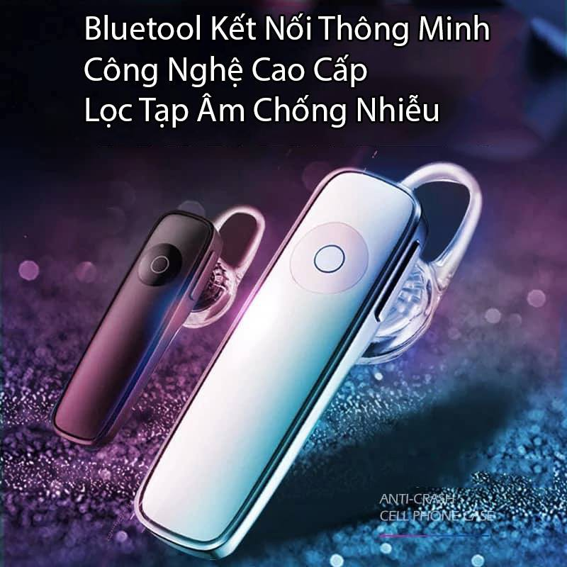 FREESIP TỪ 50K _ Tai Nghe Bluetooth Thông Minh Tích Hợp Mic M165 Thu Âm Và Truyền Tải Âm Thanh Tốt