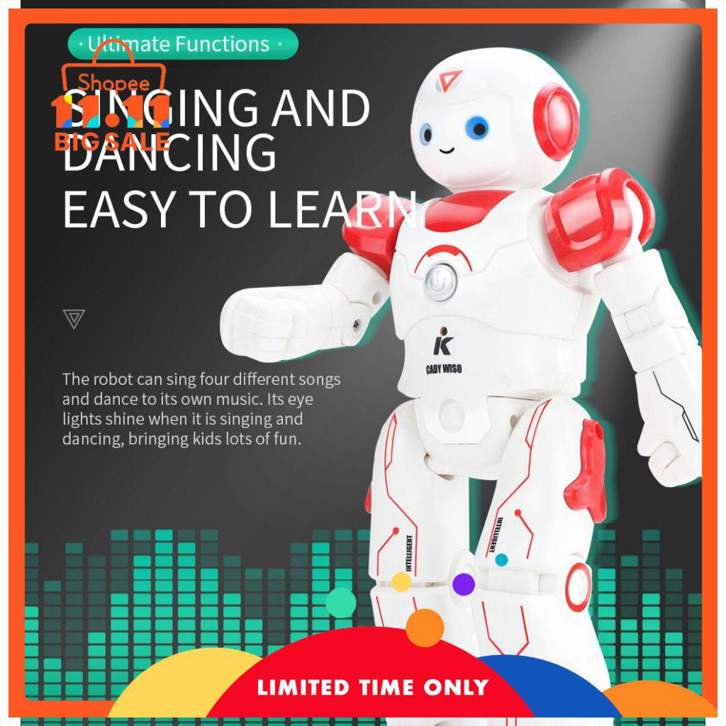 JJRC R12 CADY WISO Smart RC Robot Intelligent Programming Dancing Patrol Toy ZIYI
