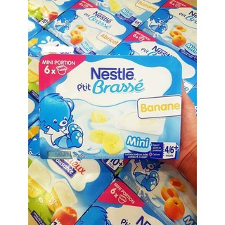 Sữa chua Nestle vỉ 6 hộp cho bé (date 10 2021) thumbnail