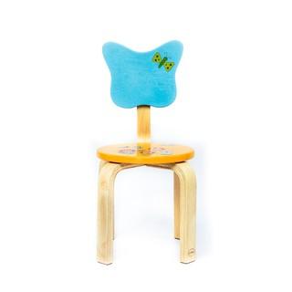 Đồ chơi gỗ Winwintoys - Ghế lưng bướm in hoa 61972