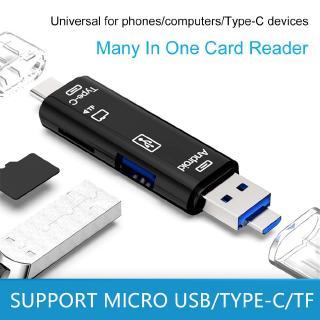 Đồ đọc thẻ OTG 5 trong 1 USB 2.0 tiện lợi