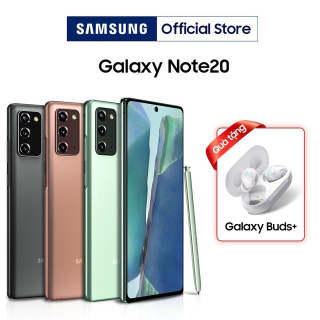 Điện Thoại Samsung Galaxy Note 20 8Gb/256Gb - Hàng chính hãng