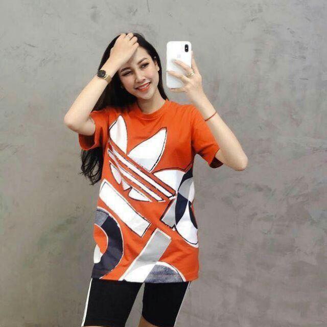 Áo cam Adidas