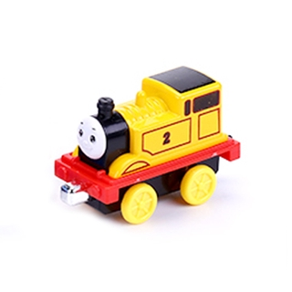 HDY Kids Cartoon Pull-Back Megnetic Alloy Train Early Learning Toys