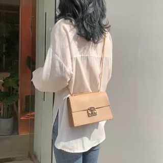 FREESHIP 50K - Túi xách nữ đeo chéo dáng Bassic sang trọng DR500
