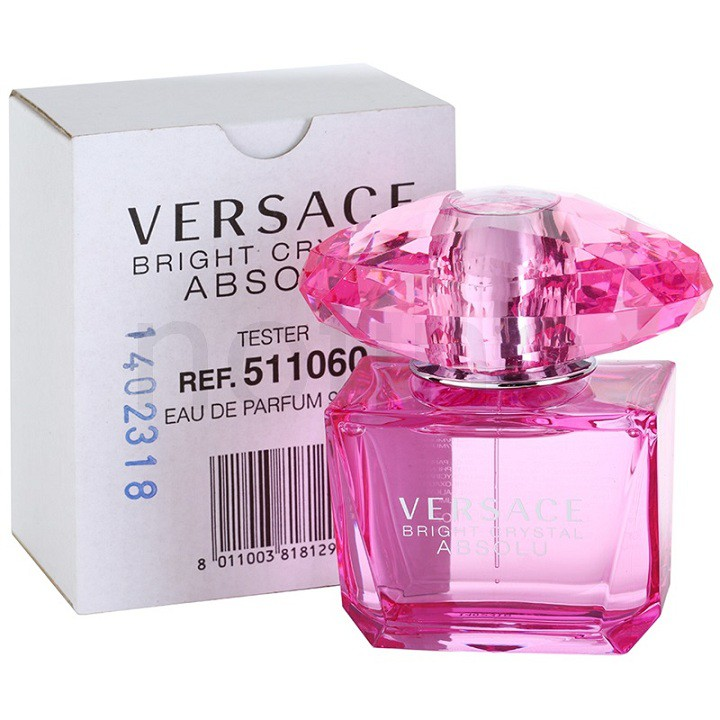 Tester 90ml Nước hoa nữ Versace Bright Crystal Absolu EDP