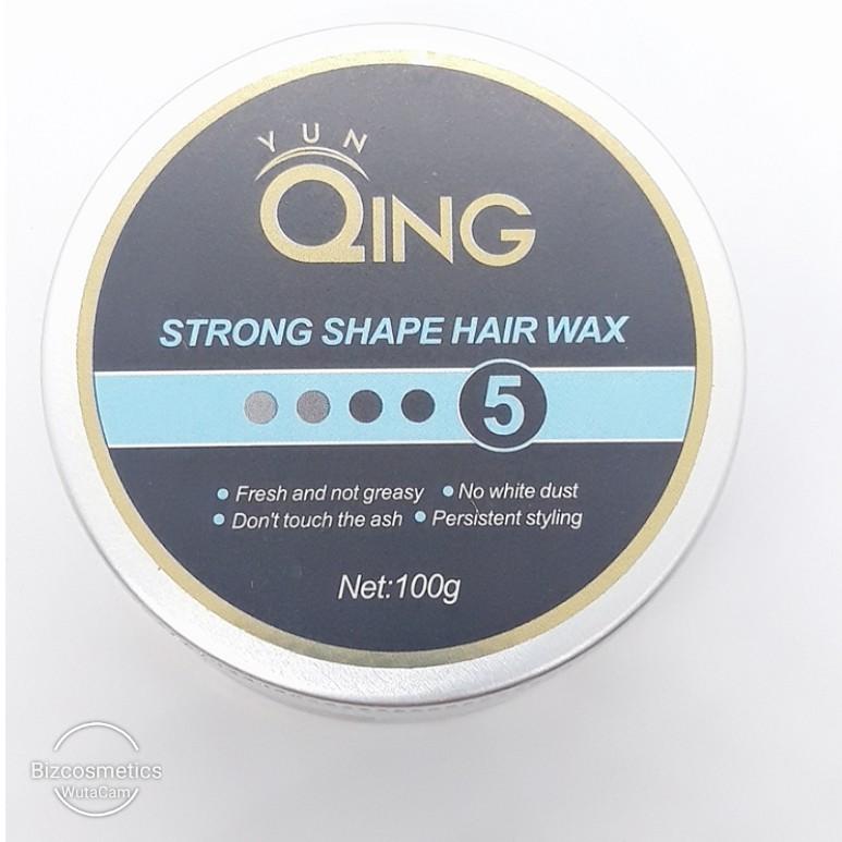 Sáp tạo kiểu tóc siêu cứng Qing Strong Shape Hair Wax - Tạo kiểu độc đáo cho tóc ngắn 100g