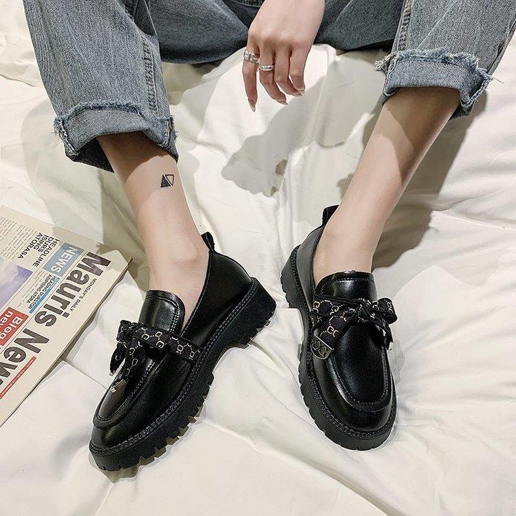Giày Búp Bê Đính Nơ Thời Trang Nữ Tính