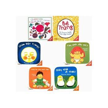 Combo 6 Cuốn Truyện Tranh Ehon (Dành Cho Trẻ Từ 0 - 3 Tuổi)
