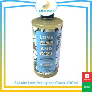 [Hàng Thái Lan] Sữa tắm dưỡng ẩm dịu nhẹ thanh mát Love Beauty And Planet Petal Soft 400ml thumbnail