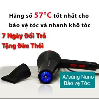 MÁY SẤY TÓC 2 Chiều Nóng Lạnh Công Suất Lớn PANA-3500W ( tặng kèm đầu thổi)