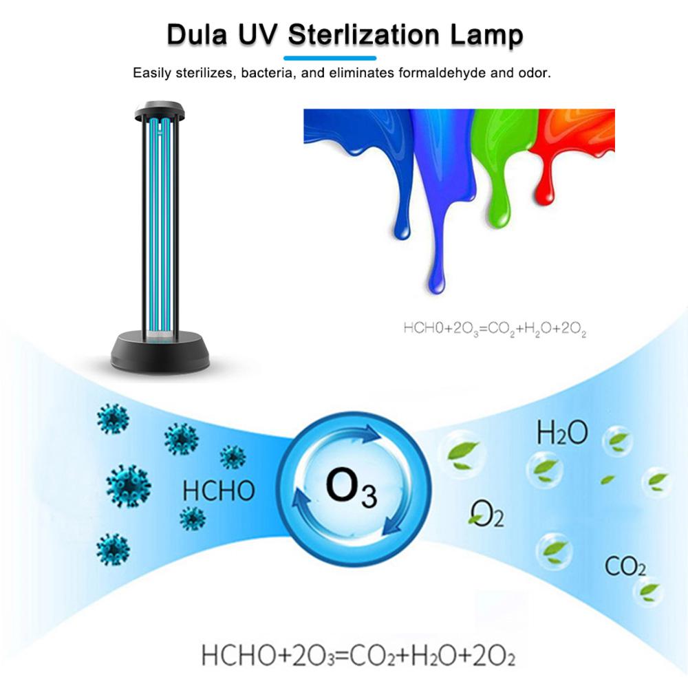 Germicidal Lamp Đèn Diệt Khuẩn Di động UV Đèn Khử Trùng Bằng Tia Cực Tím Đèn Khử Trùng Bằng ôzôn Và Diệt Bọ Xít Đèn Khử Trùng để Bàn