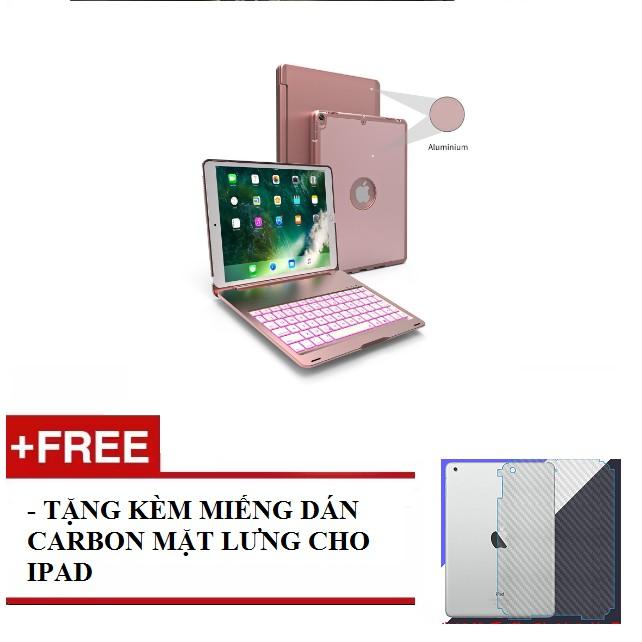 (Màu rose gold) Bàn phím bluetooth iPad Pro 10.5 ốp nhôm 7 màu đèn tặng kèm miếng dán carbon mặt lưn - 9954501 , 976908221 , 322_976908221 , 2200000 , Mau-rose-gold-Ban-phim-bluetooth-iPad-Pro-10.5-op-nhom-7-mau-den-tang-kem-mieng-dan-carbon-mat-lun-322_976908221 , shopee.vn , (Màu rose gold) Bàn phím bluetooth iPad Pro 10.5 ốp nhôm 7 màu đèn tặng kèm
