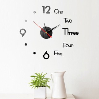 Đồng hồ dán tường trang trí nhà cửa (DHD40)