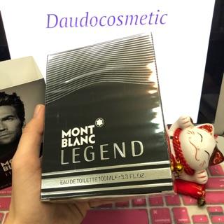 Chính Hãng Có BH [ fullsize ] Nước hoa Mont Blanc Montblanc LEGEND EDT Legend Intense 100ml CHU thumbnail