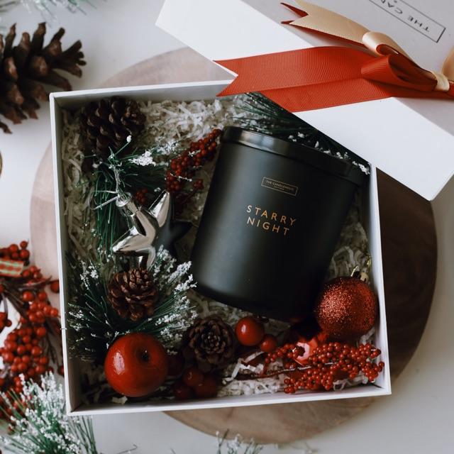Xmas gift set: Set quà Noel nến thơm The Candleholic STARRY NIGHT