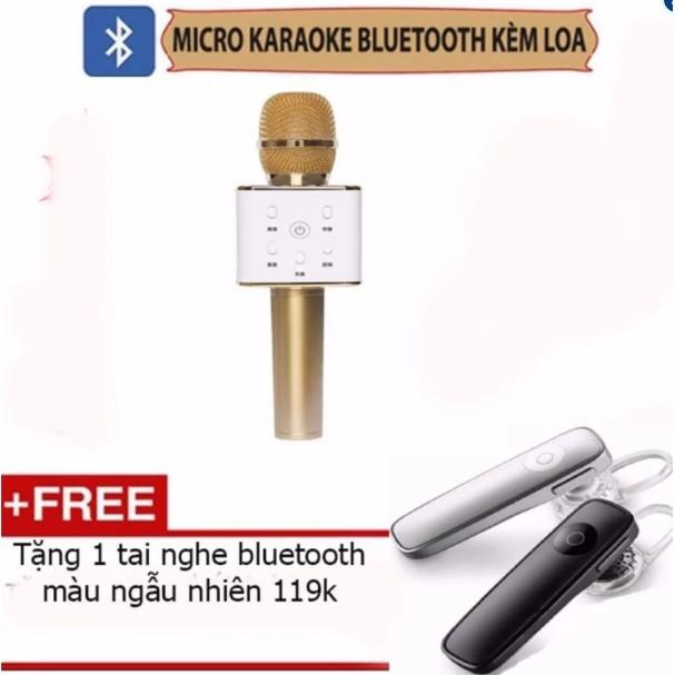 Micro kèm loa bluetooth Q7 thế hệ mới tặng kèm tai nghe bluetooth N700 - 2798541 , 317123505 , 322_317123505 , 245000 , Micro-kem-loa-bluetooth-Q7-the-he-moi-tang-kem-tai-nghe-bluetooth-N700-322_317123505 , shopee.vn , Micro kèm loa bluetooth Q7 thế hệ mới tặng kèm tai nghe bluetooth N700