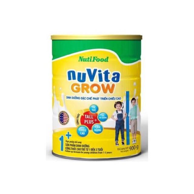 Combo 2 hộp nuvita grow 1+ loại 900g