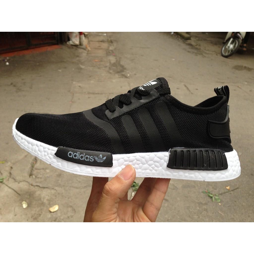 [FREE SHIP + FULL BOX] Giày Adidas NMD màu đen trắng - 2664519 , 694821747 , 322_694821747 , 220000 , FREE-SHIP-FULL-BOX-Giay-Adidas-NMD-mau-den-trang-322_694821747 , shopee.vn , [FREE SHIP + FULL BOX] Giày Adidas NMD màu đen trắng