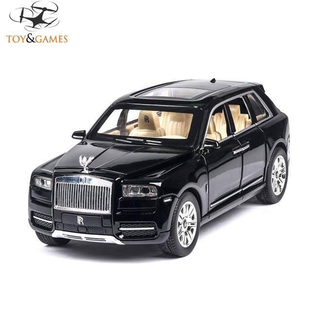 1/24 Off-road Vehicle SUV Alloy Simulation Pull Back Car for Kids