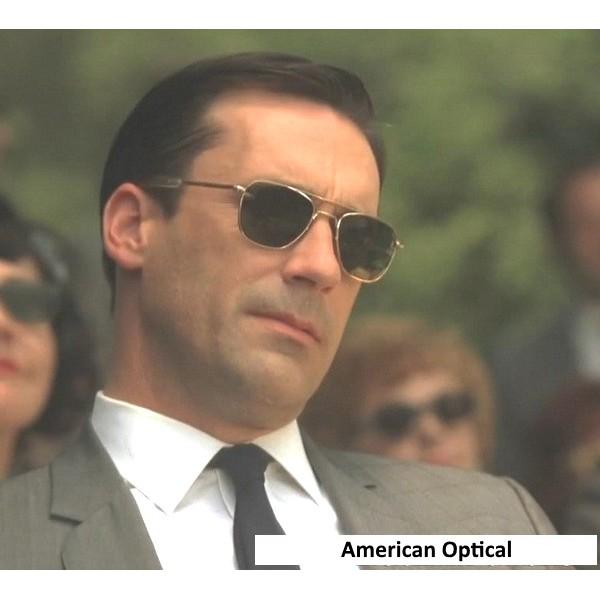 [Mã NOWSHIPMOI hoàn 100% xu đơn 0Đ] Kính Cơn AO American Optical Mắt Kính Thủy Tinh Chất Lượng Cao