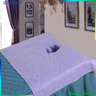 Ga Trải Giường Mát Xa Màu Trắng Chất Liệu Cotton Kích Thước 50x80cm
