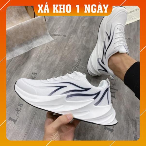 Giày thể thao nam, giày vải nam đế sóng 3D cao cấp 2920