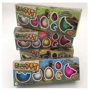 KHUYẾN MÃI Đồ chơi trứng nở ra khủng long Hàn Quốc