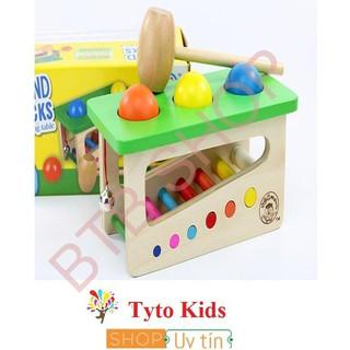 [GIÁ SỐC] Đồ chơi hộp đập bóng rung chuông cho bé