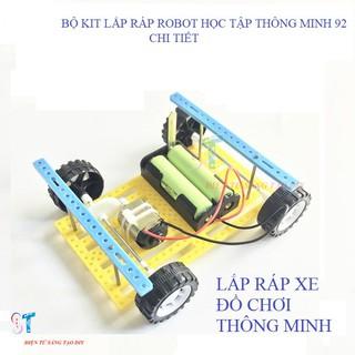Bộ kit lắp ráp robot học tập thông minh 92 chi tiết (tự ráp)