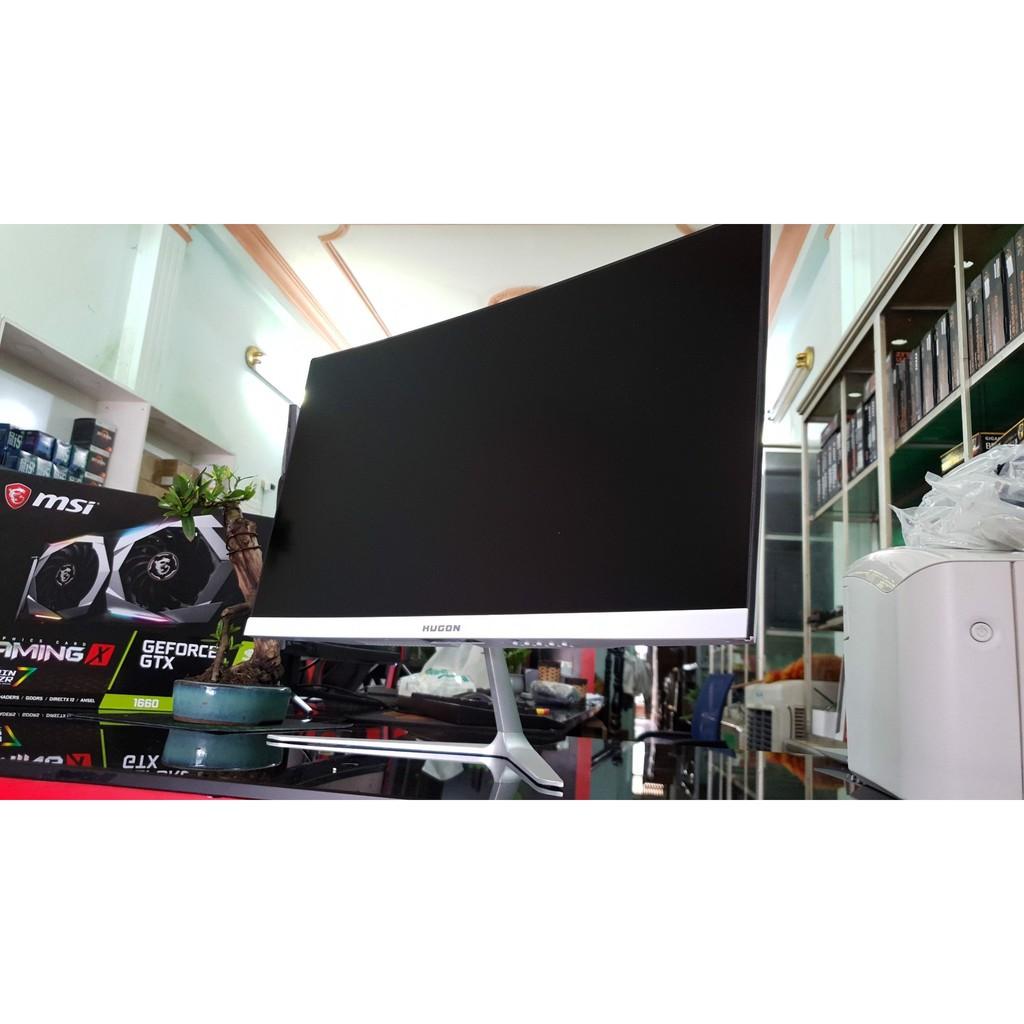 Màn hình Hugon 24inch cong 75hz IPS full viền Mới 100% giá rẻ